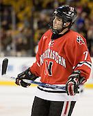 Joe Santilli (NU - 7) - The Northeastern University Huskies defeated the Harvard University Crimson 3-1 in the Beanpot consolation game on Monday, February 12, 2007, at TD Banknorth Garden in Boston, Massachusetts.