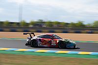 #56 TEAM PROJECT 1 (DEU) PORSCHE 911 RSR LM GTE AM JORG BERGMEISTER (DEU) PATRICK LINDSEY (USA) EGIDIO PERFETTI (NOR) NICHOLAS YELLOLY (GBR)