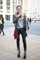 NYC Fashion Week F/W '14 Street Style Day 7