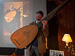 Michael Lowe Lute maker,   talk at the Wootton talks, Oxfordshire.