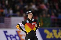 SCHAATSEN: CALGARY: Olympic Oval, 08-11-2013, Essent ISU World Cup, 500m, Jenny Wolf (GER), ©foto Martin de Jong