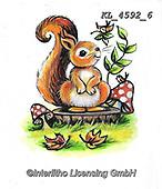 CUTE ANIMALS, LUSTIGE TIERE, ANIMALITOS DIVERTIDOS, paintings+++++,KL4592/6,#ac#, EVERYDAY ,sticker,stickers ,autumn,harvest