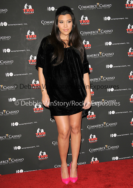 Kourtney Kardashian at The Kardashian Charity Knock Out held at The Commerce Casino in Commerce, California on November 03,2009                                                                   Copyright 2009 DVS / RockinExposures
