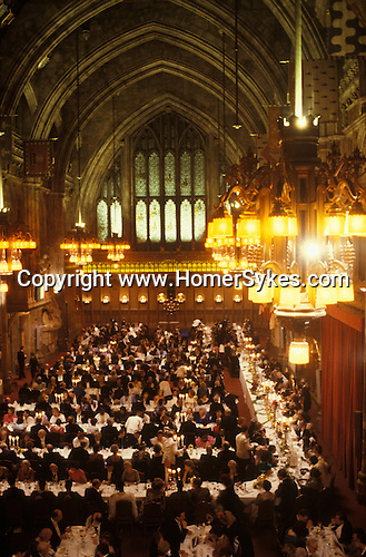Banquet The Guildhall, City of London England