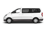 Car Driver side profile view of a 2015 Hyundai H-1 People Executive 5 Door Passenger Van Side View