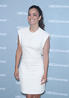 NEW YORK, NY - MAY 14: Alice Braga at the 2018 NBCUniversal Upfront at Rockefeller Center in New York City on May 14, 2018.  <br /> CAP/MPI/RW<br /> &copy;RW/MPI/Capital Pictures