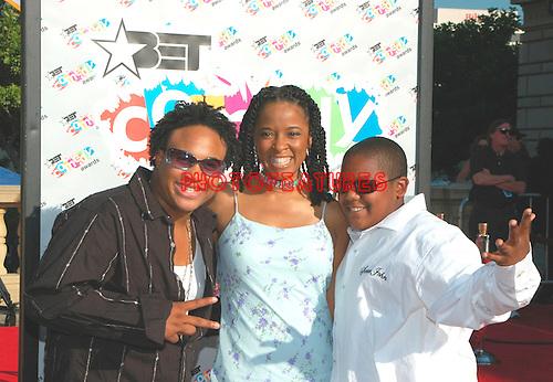 Orlando Brown, T'Keyah Crystal Keymah and Kyle Massey