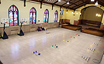 WATERBURY CT. 12 December 2018-121218SV25-The gym and auditorium area of the Brass City Charter School in the former St. Margaret's of Scotland Church in Waterbury Wednesday.<br /> Steven Valenti Republican-American