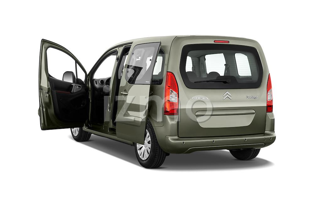 Rear three quarter door view of a 2008 - 2014 Citroen BERLINGO Multispace 5-Door Mini Mpv 2WD