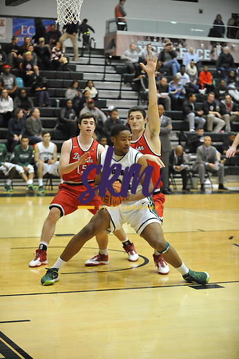 Stevenson's men's basketball falls to the Red Devils 67-77 on Friday night at Owings Mills gymnasium on Hoopsville opening night.