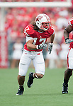 Wisconsin Badgers linebacker A.J. Fenton (17) during an NCAA college football game against the San Jose State Spartans on September 11, 2010 at Camp Randall Stadium in Madison, Wisconsin. The Badgers beat San Jose State 27-14. (Photo by David Stluka)