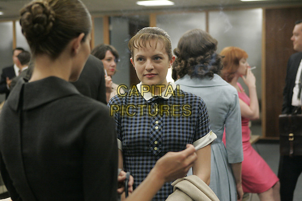 ELISABETH MOSS<br /> in Mad Men (Season 1)<br /> *Filmstill - Editorial Use Only*<br /> CAP/FB<br /> Image supplied by Capital Pictures