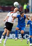 Melanie Behringer, Giulia Domenichetti, QF, Germany-Italy, Women's EURO 2009 in Finland, 09042009, Lahti Stadium.