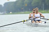 Amsterdam, NETHERLAND, USA BM2-. 2011 FISA U23 World Rowing Championships, Thursday, 21/07/2011 [Mandatory credit:  Intersport Images].