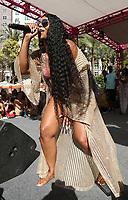 08 June 2019 - Las Vegas, NV - Ashanti. Ashanti performs at Flamingo Las Vegas' GO Pool  Dayclub. Photo Credit: MJT/AdMedia