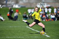 Commerce City, CO - Saturday April 27, 2019: U.S. Soccer Girl's Development Academy Spring Showcase at Dick's Sporting Goods Park.