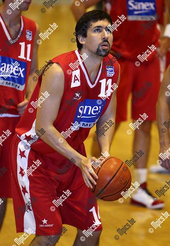 2007-08-18 / Basketbal / Antwerp Diamond Giants / Gabriel Mikulas