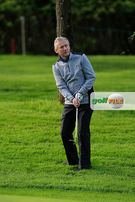 Michael O'Riordan (AM) on the 1st during Wednesday's Pro-Am round of the Dubai Duty Free Irish Open presented  by the Rory Foundation at The K Club, Straffan, Co. Kildare<br /> Picture: Golffile | Thos Caffrey<br /> <br /> All photo usage must carry mandatory copyright credit <br /> (&copy; Golffile | Thos Caffrey)