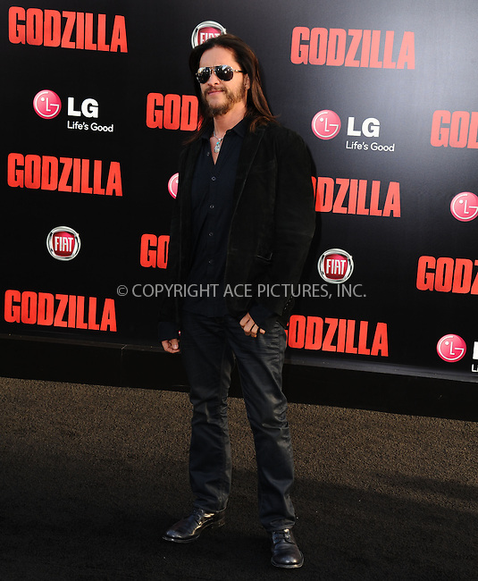 ACEPIXS.COM<br /> <br /> May 8 2014, LA<br /> <br /> Clifton Collins Jr. arriving at the Los Angeles premiere of 'Godzilla' at Dolby Theatre on May 8, 2014 in Hollywood, California. <br /> <br /> By Line: Peter West/ACE Pictures<br /> <br /> ACE Pictures, Inc.<br /> www.acepixs.com<br /> Email: info@acepixs.com<br /> Tel: 646 769 0430