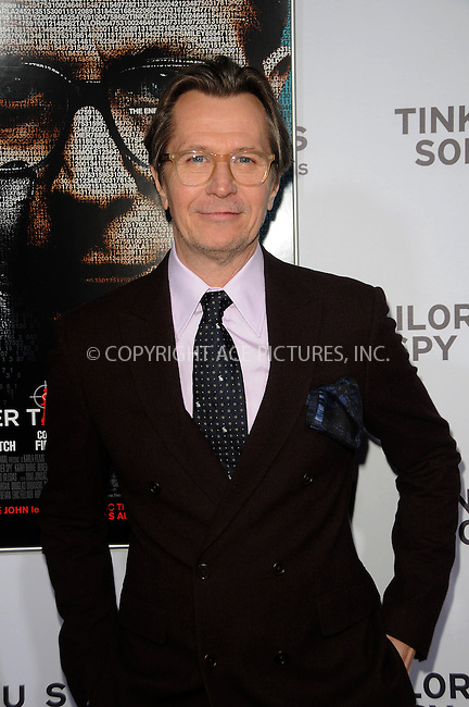 WWW.ACEPIXS.COM . . . . .  ....December 6 2011, LA....Actor Gary Oldman arriving at the premiere of 'Tinker, Tailor, Soldier, Spy' at the Arclight Cinerama Dome on December 6, 2011 in Hollywood, California.......Please byline: PETER WEST - ACE PICTURES.... *** ***..Ace Pictures, Inc:  ..Philip Vaughan (212) 243-8787 or (646) 679 0430..e-mail: info@acepixs.com..web: http://www.acepixs.com