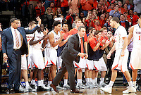 Virginia head coach Tony Bennett during an ACC basketball game Jan. 31, 2015 in Charlottesville, VA. Duke won 69-63.