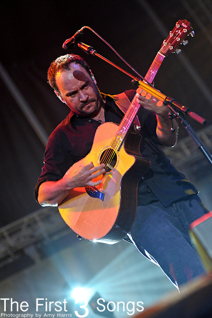 Dave Matthews of Dave Matthews Band performs during day one of the Dave Matthews Band Caravan at Lakeside on July 8, 2011 in Chicago, Illinois.