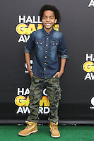 SANTA MONICA, CA, USA - FEBRUARY 15: Terrell Ransom  at the 4th Annual Cartoon Network Hall Of Game Awards held at Barker Hangar on February 15, 2014 in Santa Monica, California, United States. (Photo by David Acosta/Celebrity Monitor)