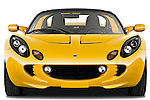 Straight front view of a 2009 Lotus Elise SC 2 Door Convertible