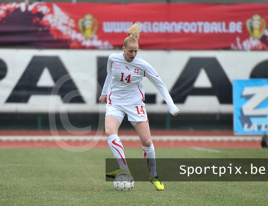 Belgium U19 - Switzerland U19 : Nina Stapelfeldt.foto DAVID CATRY / Nikonpro.be