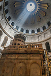 The Aedicule or Kouvouklion is a small chapel under the rotunda that encloses the Holy Sepulchre.  The Old City of Jerusalem and its Walls is a UNESCO World Heritage Site