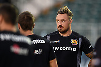 Jack Nowell of Exeter Chiefs looks on prior to the match. Gallagher Premiership match, between Bath Rugby and Exeter Chiefs on October 5, 2018 at the Recreation Ground in Bath, England. Photo by: Patrick Khachfe / Onside Images