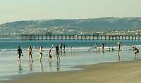 People on the Beach in San Clemente
