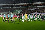 12.03.2018, Weser Stadion, Bremen, GER, 1.FBL, Werder Bremen vs 1.FC Koeln, im Bild<br /> Demo Banner, Montagsspiele, Fans Ostkurve mit Mannschaft<br /> <br /> Foto &copy; nordphoto / Kokenge