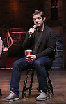 Rory O'Malley from 'Hamilton' greet High School students from The Rockefeller Foundation, and The Gilder Lehrman Institute of American History before a 'Hamilton' matinee performance at the Richard Rodgers Theatre on 11/30/2016 in New York City.
