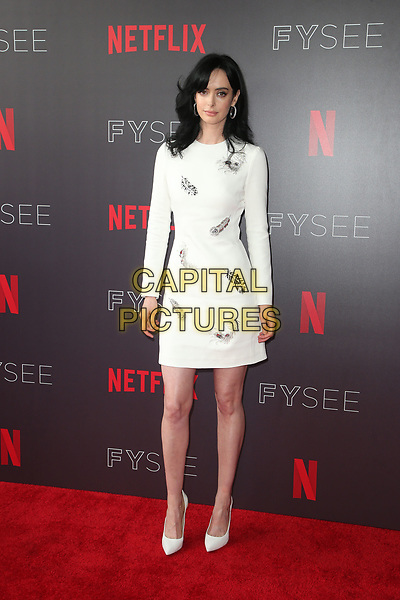 LOS ANGELES, CA - MAY 19: Krysten Ritter, at NETFLIX FYC Event for Marvel's Jessica Jones at NEFTLIX FYSEE at Raleigh Studios in Los Angeles, California on May 19, 2018.  <br /> CAP/MPIFS<br /> &copy;MPIFS/Capital Pictures