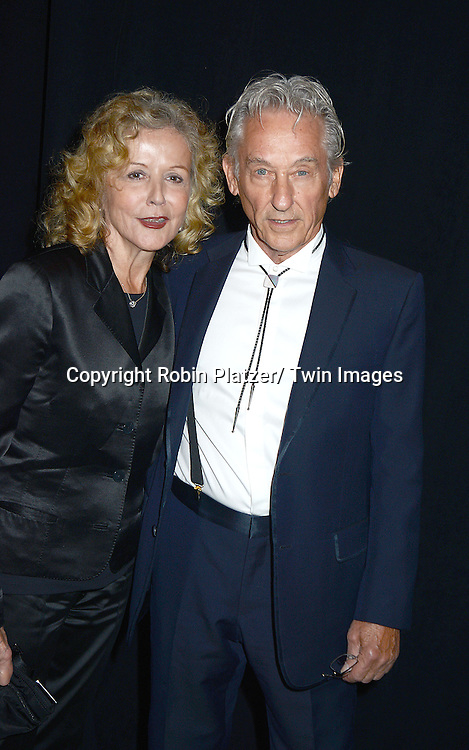 Ed Ruscha and wife Danna attends the 2013 Whitney Gala & Studio party honoring artist Ed Ruscha on October 23, 2013 at Skylight at Moynihan Station in New York City.