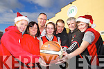 Getting ready for the Castleisland Stephen's Day Basketball blitz, were l-r: Amy Reidy, Joan Nolan, Maurice Casey, Orla White, Eamon Egan, Vincent Barry and Rosin Casey.