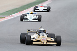 22.04.2012 Barcelona, Spain. GP Masters. Pictures show driver Philip Hall GBR with Arrows A3-3 at Circuit Catalunya
