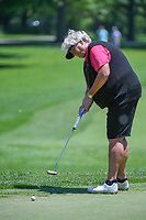 Laura Davies (ENG) watches her putt on 10 during round 2 of the 2018 KPMG Women's PGA Championship, Kemper Lakes Golf Club, at Kildeer, Illinois, USA. 6/29/2018.<br /> Picture: Golffile | Ken Murray<br /> <br /> All photo usage must carry mandatory copyright credit (© Golffile | Ken Murray)
