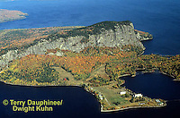 KN01-030z  Mt. Kineo on Moosehead Lake, Maine  ©Terry Dauphinee/Dwight Kuhn
