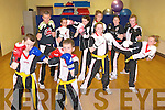 Listowel Korean Kickboxing Club: Members of Listowel Kickboxing Club who will be traveling to Spain to take part in kick Boxing Championships...Front : Patrick Gray, Aaron Shine, Osha Horgan-Slemon & Dyon Keane. ..Back : Mike O'Brien, Instructor, Mags Horgan, Tisha O;Brien, Julieanne Galvin, Marion Keane & Naomi O'Brien.....Ref Eoin