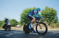 Ryder Hesjedal (CAN)<br /> <br /> Tour de France 2013<br /> stage 11: iTT Avranches - Mont Saint-Michel <br /> 33km