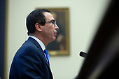 United States Secretary of the Treasury Steven T. Mnuchin testifies before the United States House Committee on Financial Services at the United States Capitol in Washington D.C., U.S., on Thursday, December 5, 2019. <br /> <br /> Photographer: Stefani Reynolds/CNP