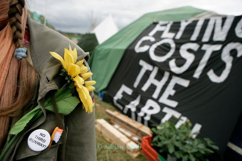 Climate Camp, Heathrow .