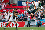 Kung Fu Rugby match as part of the Cathay Pacific / HSBC Hong Kong Sevens at the Hong Kong Stadium on 29 March 2015 in Hong Kong, China. Photo by Xaume Olleros / Power Sport Images
