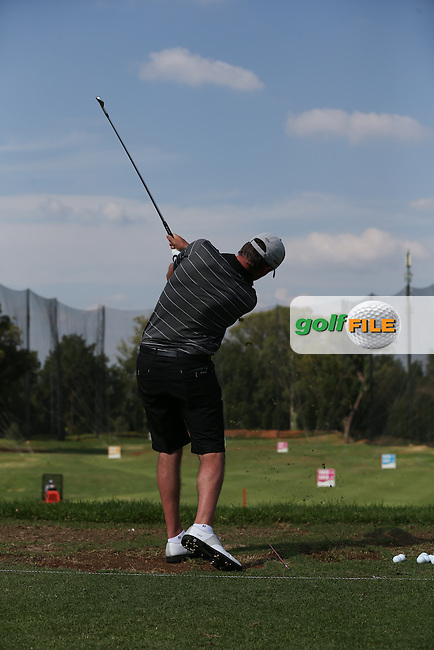Swing sequence of Chris Hanson (ENG) during the preview days of the 2016 Tshwane Open, played at the Pretoria Country Club, Waterkloof, Pretoria, South Africa.  09/02/2016. Picture: Golffile | David Lloyd<br /> <br /> All photos usage must carry mandatory copyright credit (&copy; Golffile | David Lloyd)