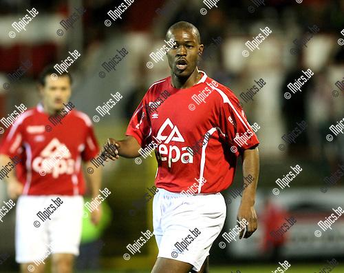 2008-03-22 / Voetbal / Antwerp FC - Union Saint-Gilloise / Marc Gbarssin (Antwerp)..Foto: Maarten Straetemans (SMB)
