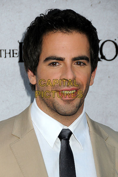 """ELI ROTH .""""The Last Exorcism"""" Los Angeles Premiere held at Arclight Cinemas, Hollywood, California, USA, .24th August 2010..portrait headshot beige white shirt tie .CAP/ADM/BP.©Byron Purvis/AdMedia/Capital Pictures."""