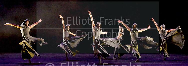 Sadler's Wells Sampled <br /> at Sadler's Wells, London, Great Britain <br /> press photocall / rehearsals <br /> 2nd February 2017 <br /> <br /> <br /> Northern Ballet <br /> Casanova<br /> by Kenneth Tindall <br /> <br /> <br /> <br /> Photograph by Elliott Franks <br /> Image licensed to Elliott Franks Photography Services