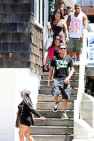 The entire cast of the show leave the house for a secret destination during filming of The Jersey Shore Show season six in Seaside Heights, New Jersey on June 27, 2012  &copy; Star Shooter / MediaPunchInc /*NORTEPHOTO.COM*<br />